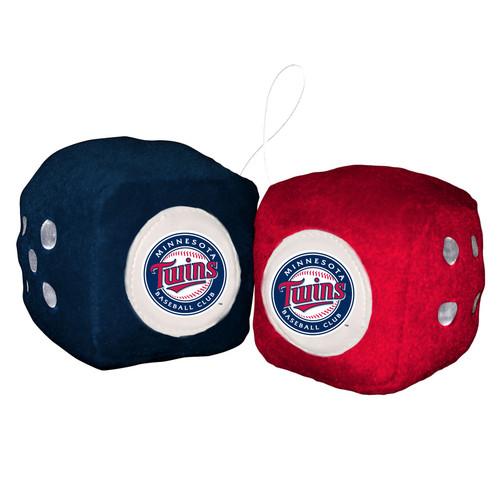 Minnesota Twins Plush Fuzzy Dice