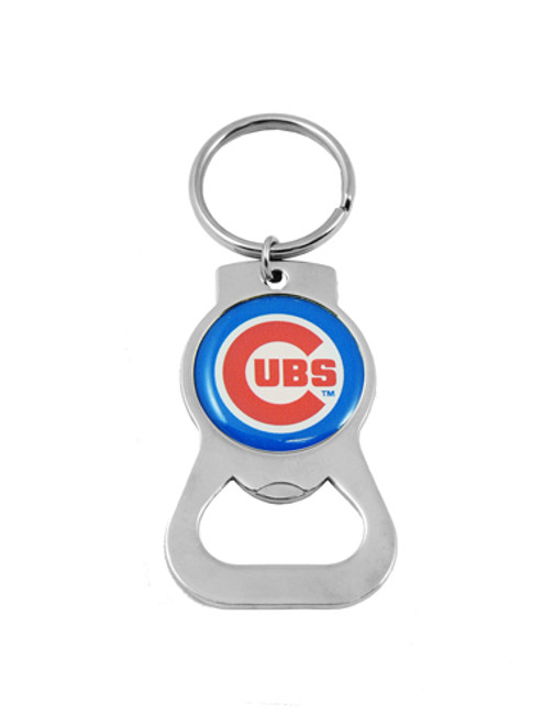 Chicago Cubs MLB Metal Bottle Opener Key Chain