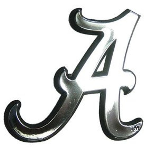 Alabama Crimson Tide  Chrome Emblem