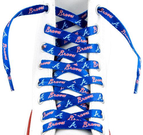Atlanta Braves MLB Shoe Laces