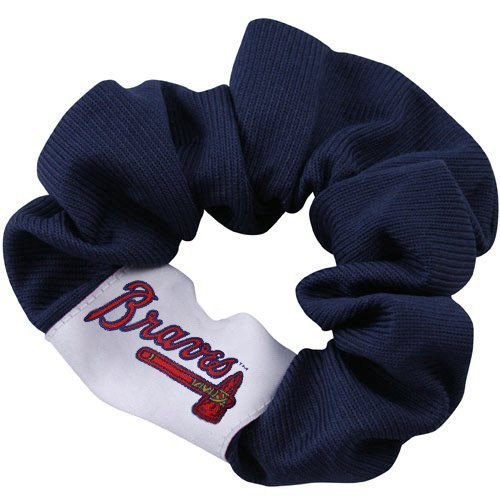 Atlanta Braves MLB Scrunchie Hair Twist Tie