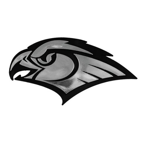 Atlanta Hawks NBA 3D Chrome Emblem Decal Sticker