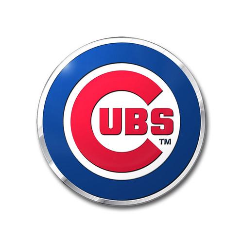 Chicago Cubs Embossed Color Emblem