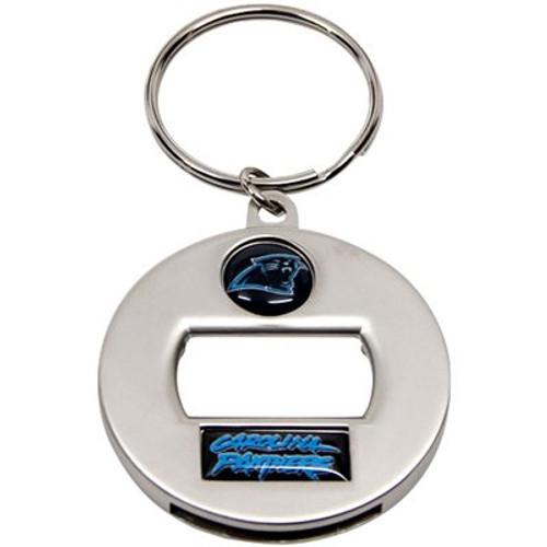 Carolina Panthers NFL Metal EZ Bottle Opener Key Chain Ring