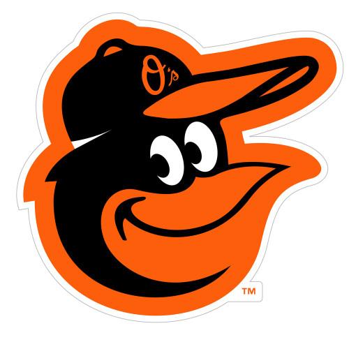 """Baltimore Orioles MLB Baseball 8"""" Logo Magnet"""