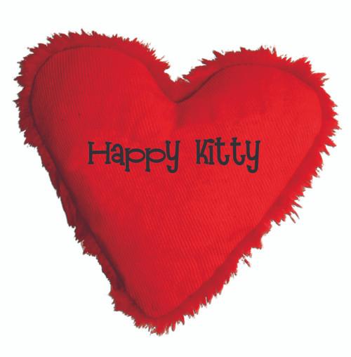 Cat Toy Heart Catnip Happy Kitty