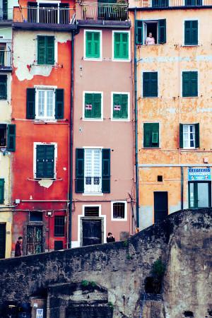 Cinque Terre, Italy Color