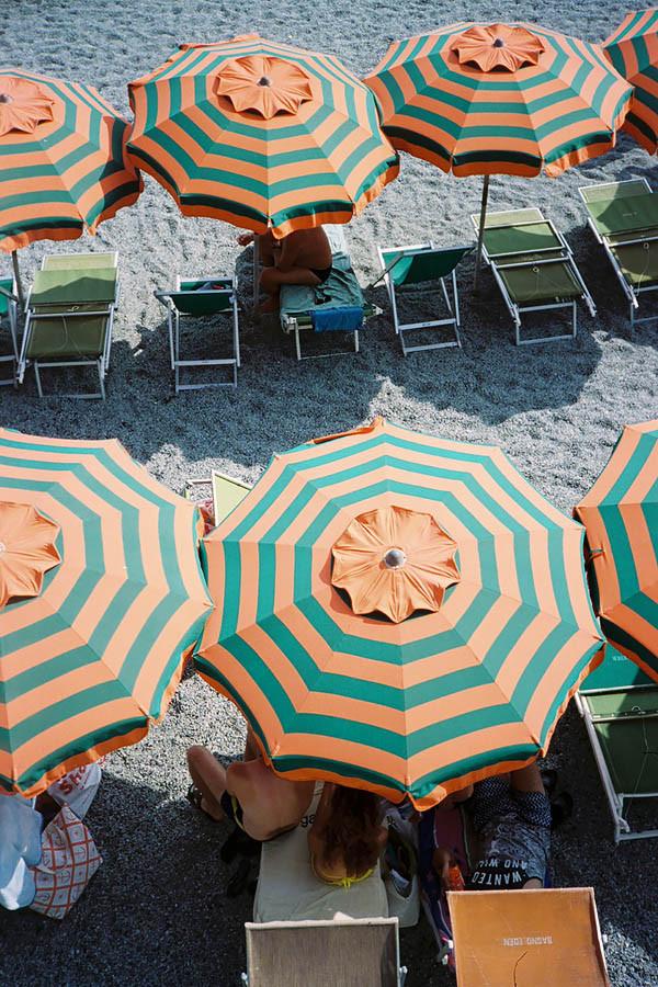 Meet Me Under The Striped Umbrella
