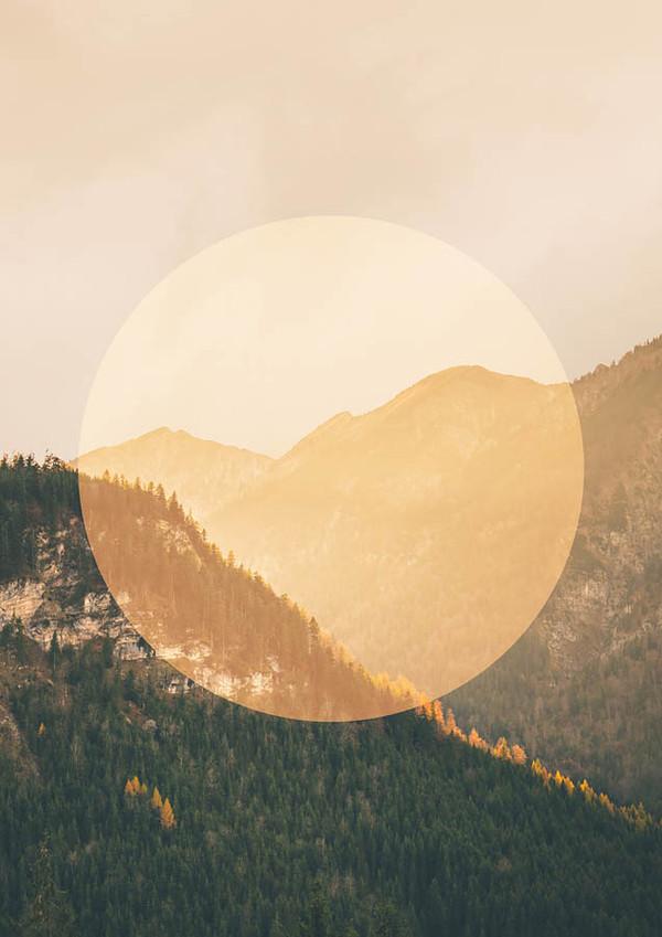 Alps Orange Circle