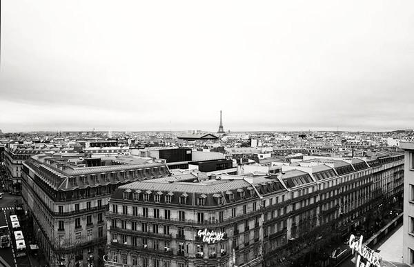 Paris, France BW