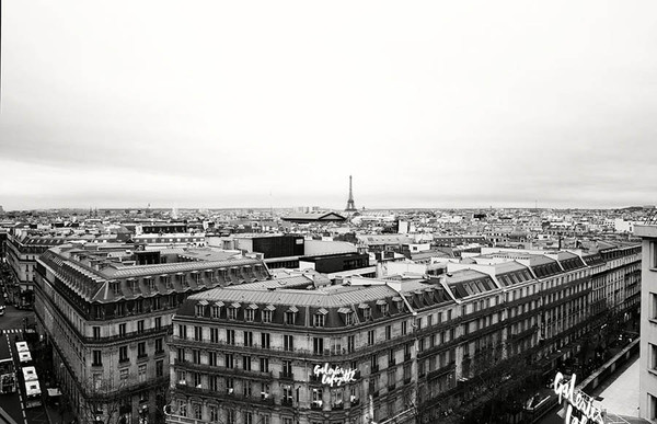 Paris, France BW