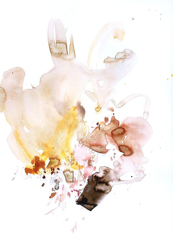 Abstract Blush I