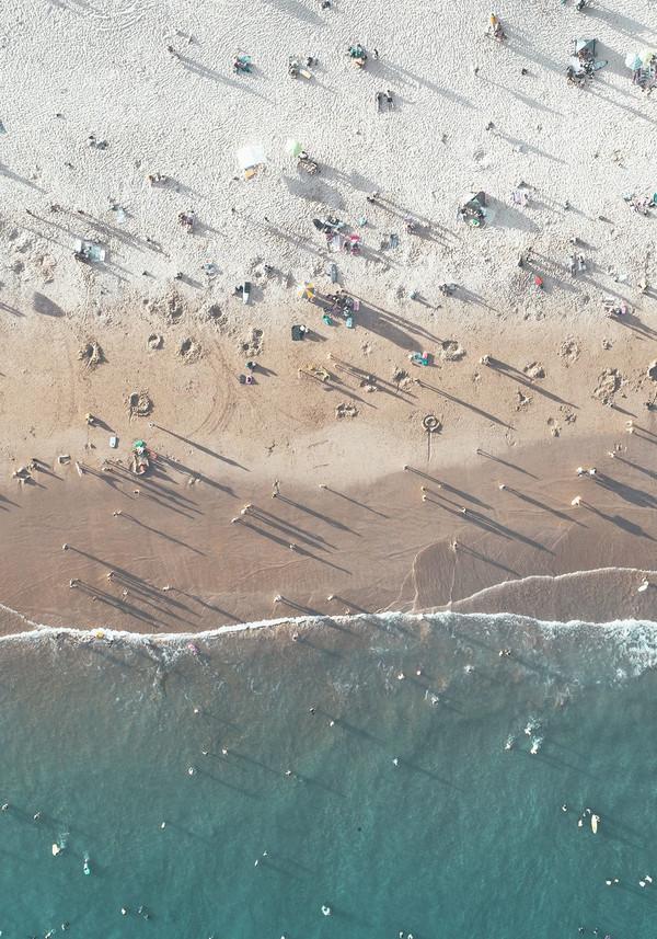 Aerial Beach I
