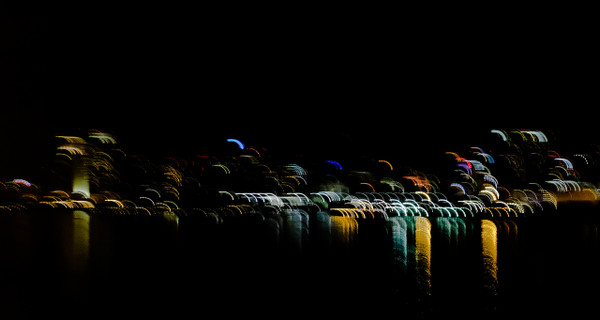 City Lights Abstract 3