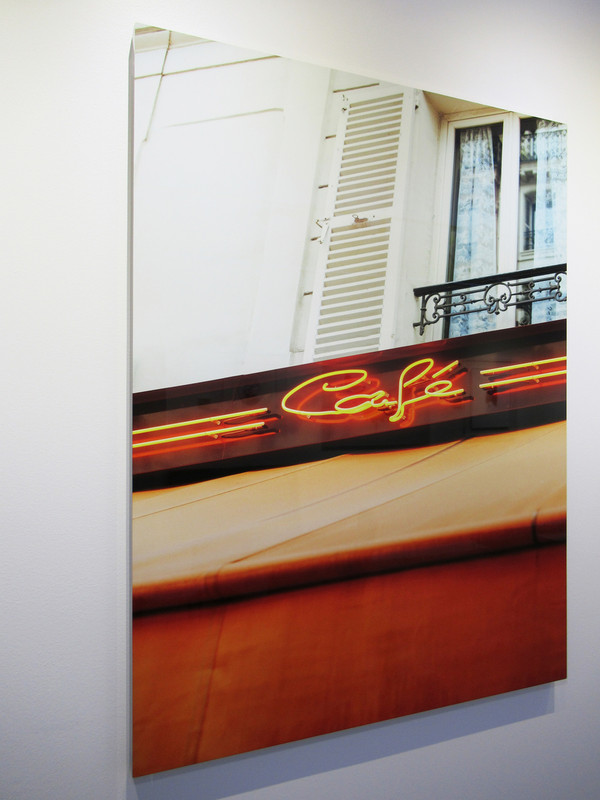 """Paris Café"" HD Metal - Gallery Collection Exclusive"