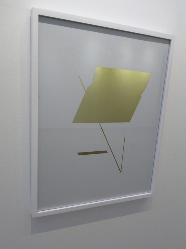 """Cipher 2"" Framed Mylar - Gallery Collection Exclusive"