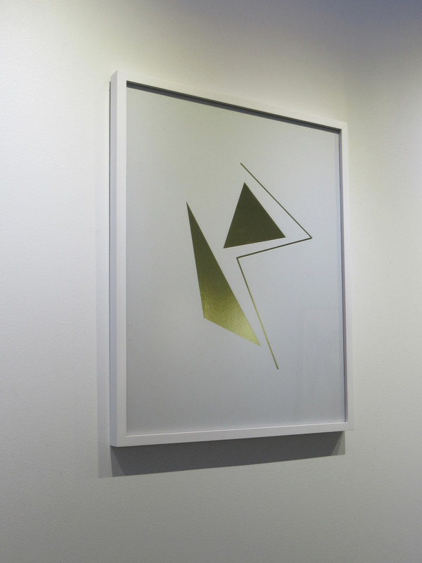 """Cipher 3"" Framed Mylar - Gallery Collection Exclusive"