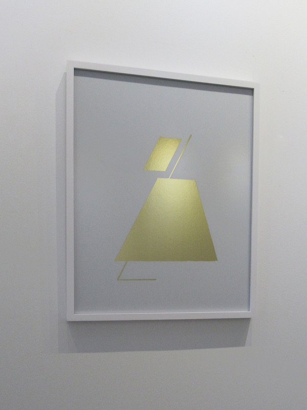 """""""Cipher 4"""" Framed Mylar - Gallery Collection Exclusive"""