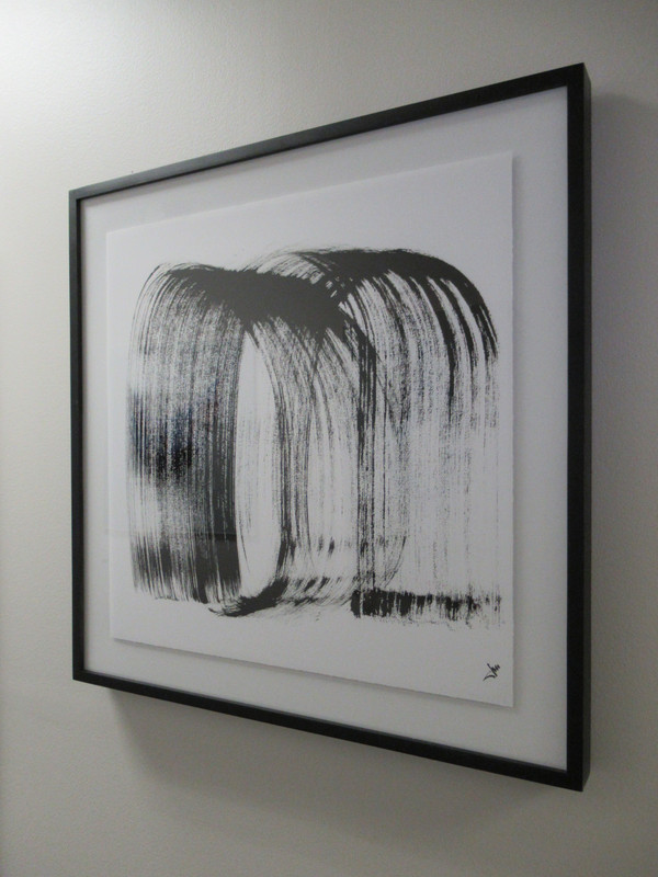 """""""BW Paper 2"""" Framed Paper - Gallery Collection Exclusive"""