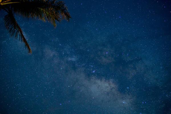 Unexpected Milky Way
