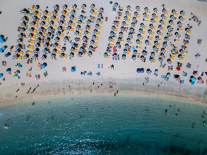 Aerial Beach 2