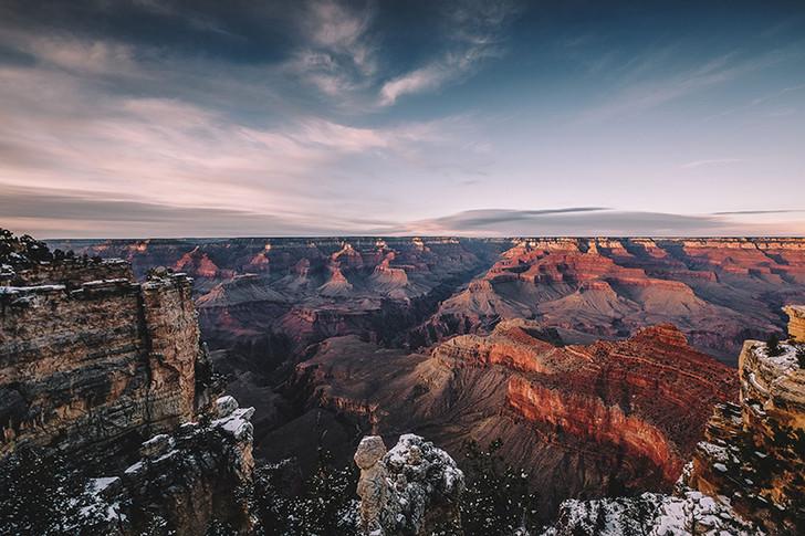 Color Fills the Canyon, Grand Canyon National Park, Arizona