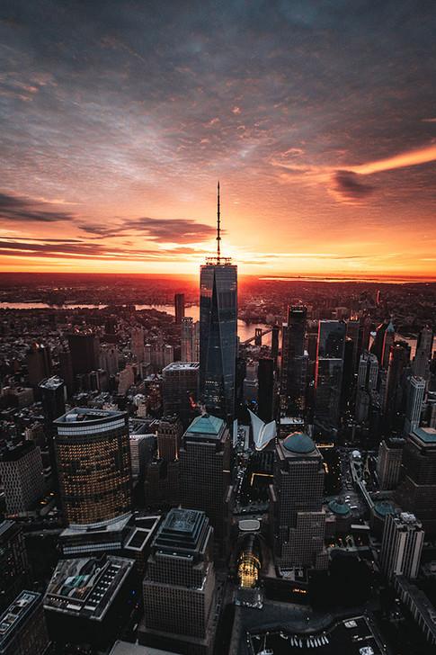 World Trade Center at First Light, New York