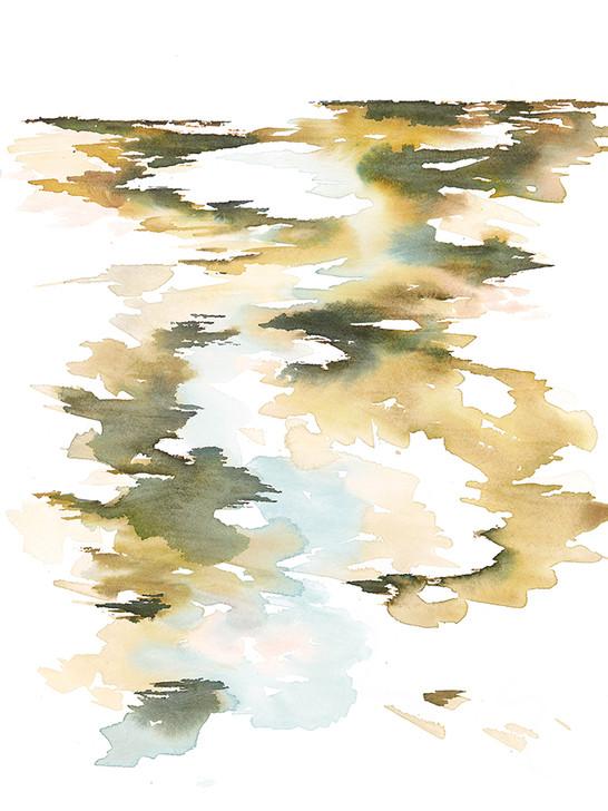 Abstract Coastline II