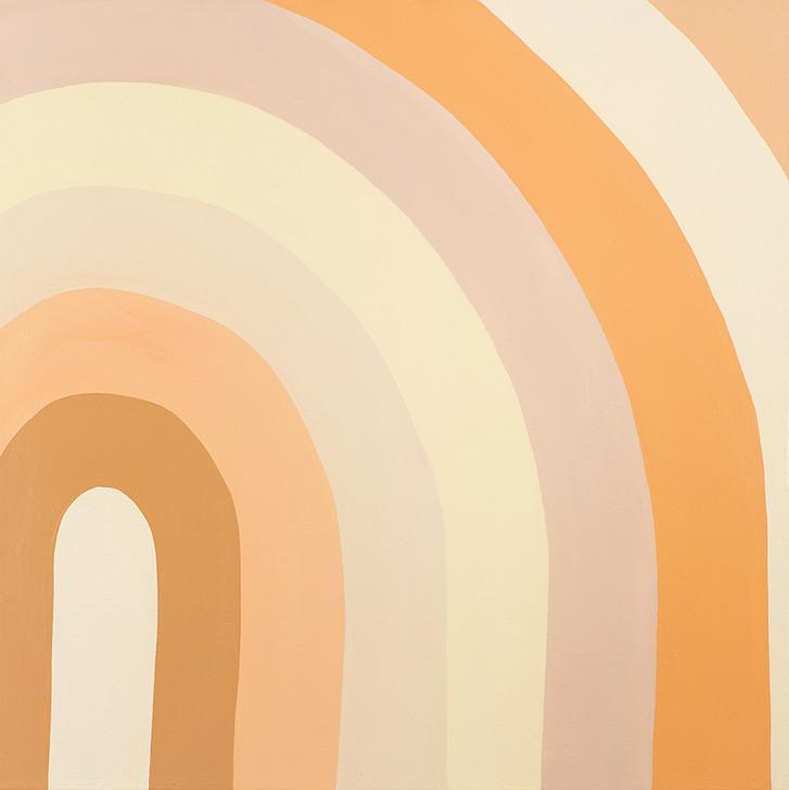Apricot Cake Stripes