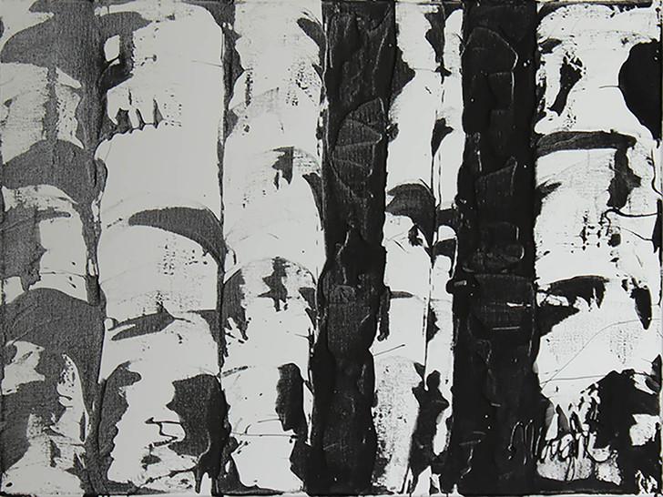 Black and White Aspen I