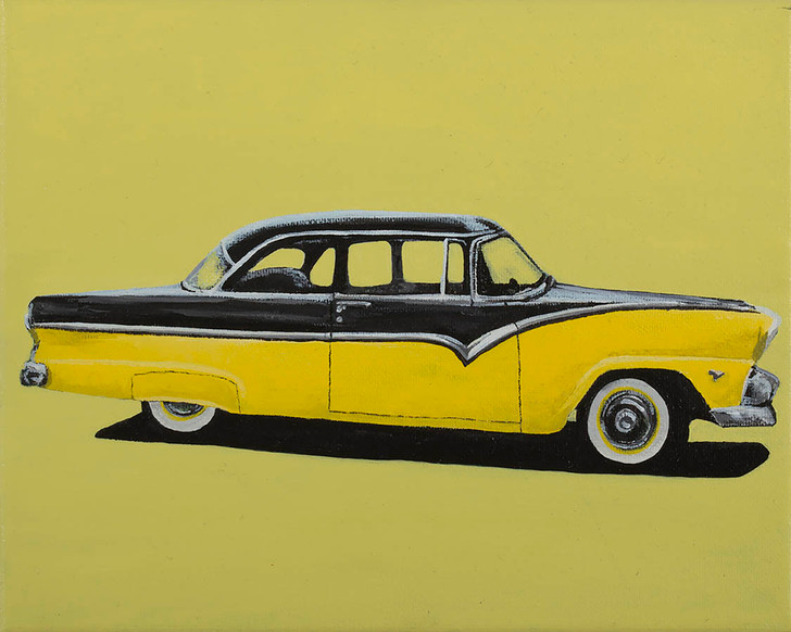 Yellow & Black Two Tone