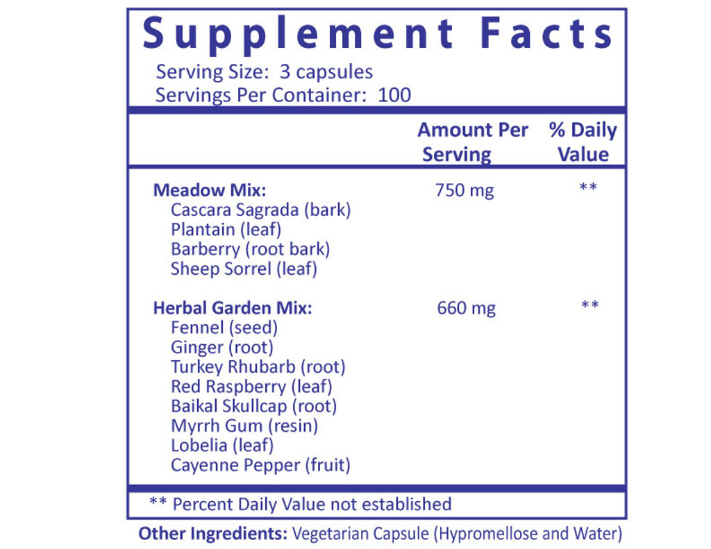 Chomper with Cayenne - 300 Capsules Supplement Facts panel