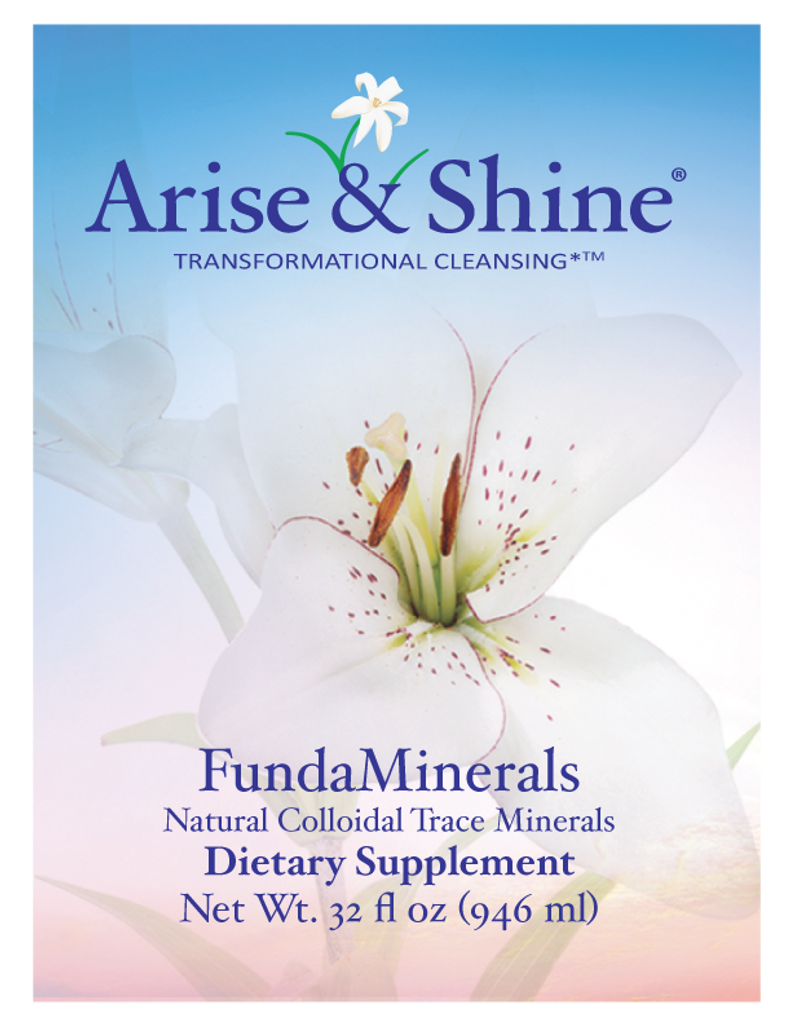 FundaMinerals, Liquid Trace Minerals - 32 oz.