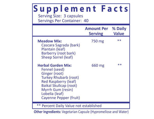 Chomper with Cayenne - 120 Capsules Supplement Facts panel