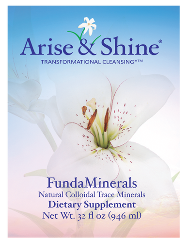 Case of 12 FundaMinerals, Liquid Trace Minerals - 32 oz.