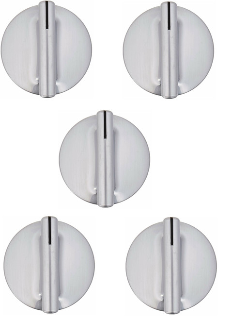 5 Pcs Knob Compatible with Jenn-Air Whirlpool Maytag Range WP74010839