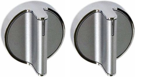 2 PCs W10828837 surface burner knob Compatible with WHIRLPOOL Range