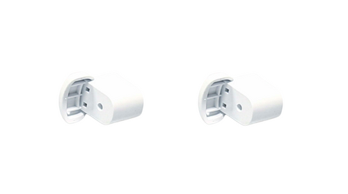 Handle Support White Compatible with GE Microwave WB06X10943 ( 2 - Pack )