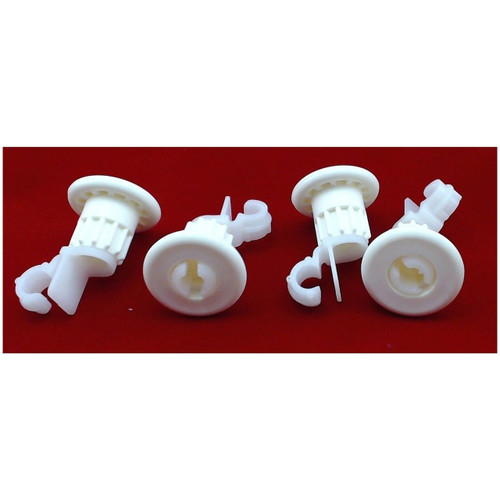 ( 4 Pack ) Rack Roller Kit  for General Electric AP4980629 PS3486910 WD12X10327