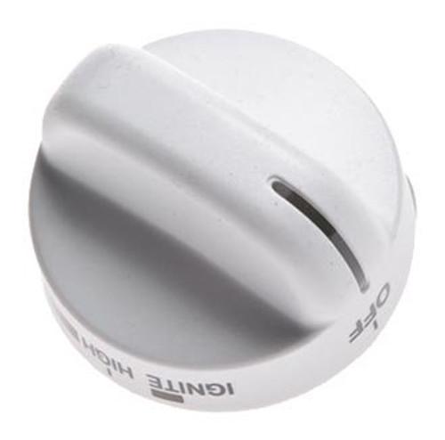 8273104 White Top Burner Knob for Whirlpool Range
