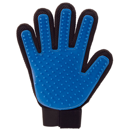 True Glove DeShedding Touch Glove for Gentle and Efficient Pet Grooming