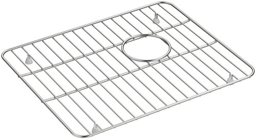 K-5828-ST Stainless Steel Rack for Large Kohler Whitehaven Sink