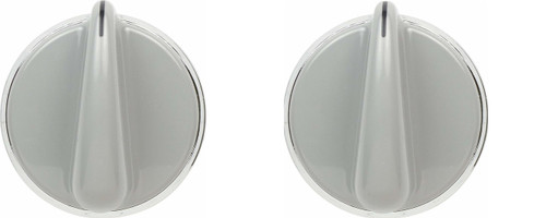 Knob And Clip ( 2 Pieces ) Compatible with GE Dryer WH01X10462