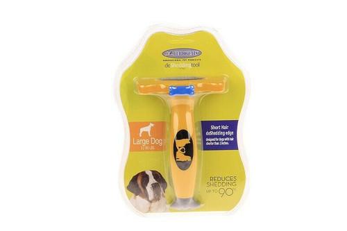 Short Hair deShedding Tool for Large Dogs Reduce Shedding