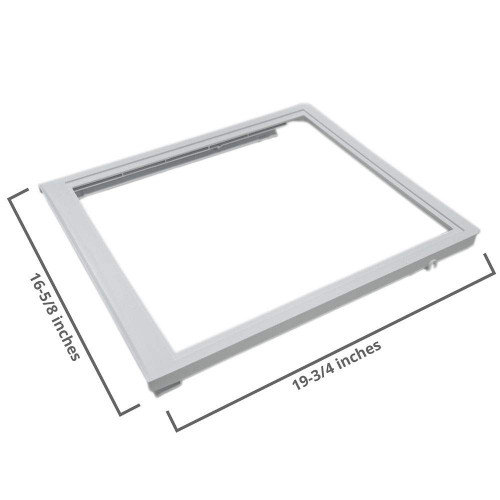 240350702 Crisper Pan (Top) Compatible with Electrolux Frigidaire Refrigerator