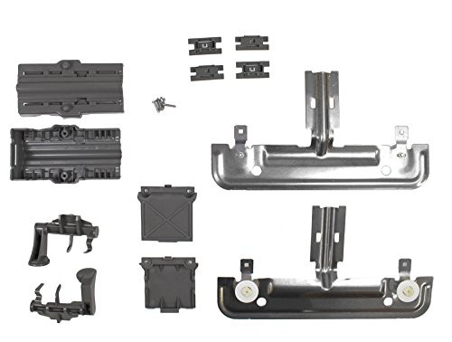 W10712395 Rack Adjuster Kit Compatible With Whirlpool Dishwasher