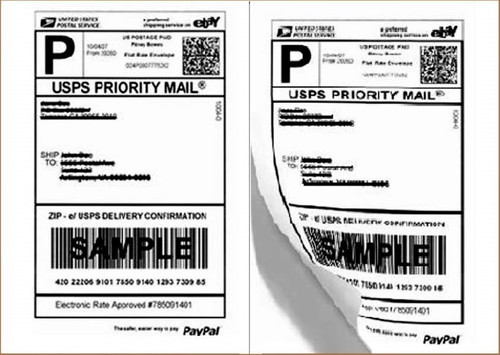 Labels 8.5x5.5 4000 Shipping 8.5x5.5 Half-Sheet Self Adhesive Label
