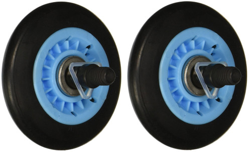 2 Pack Drum Roller Compatible with Samsung Dryer DC97-16782A AP5325135 PS4221885