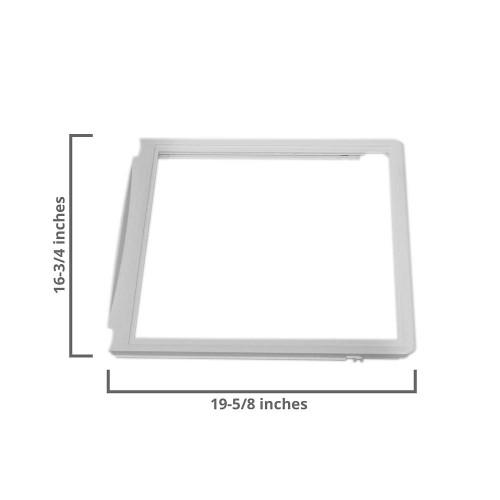 Upper Crisper Drawer Cover Compatible with Frigidaire Refrigerator 240599301
