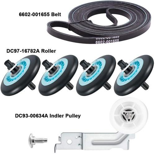 DC97-16782A DC97-07523B DC93-00634A 6602-001655 Samsung Belt Roller Idler Kit